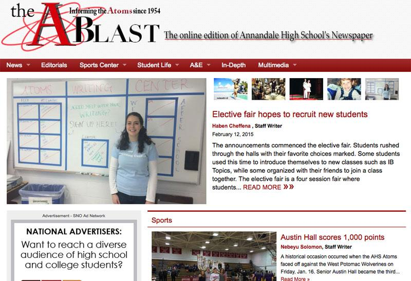 Snosites School Newspapers Online College Newspapers