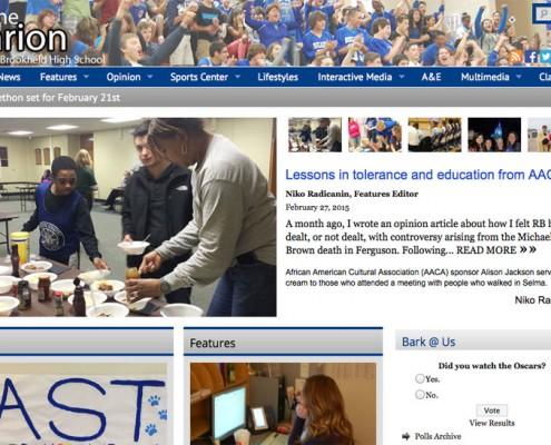 Award Winning High School Newspapers SNO Sites