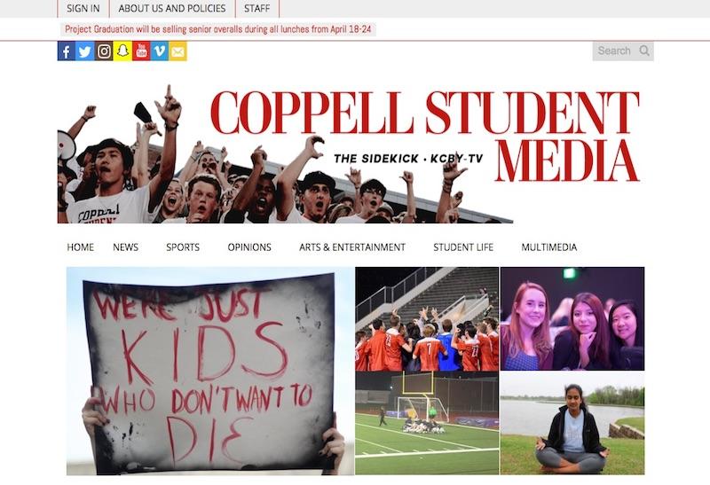 Award Winning High School Newspapers | SNO Sites